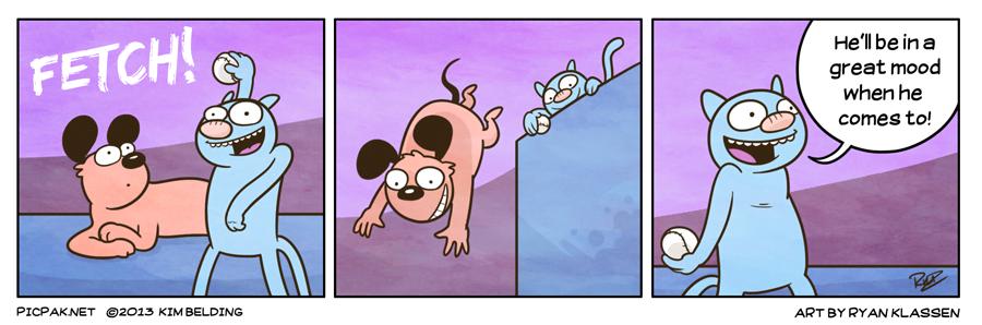 Guest Strip by Ryan Klassen: Fetch